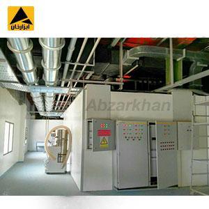 در هنگام کانال کشی هوای اتاق تمیز نباید سایر تجهیزات به گونه ای طراحی و نصب گردد تا در جلوی جریان هوا قرار بگیردو مانع آن گردد